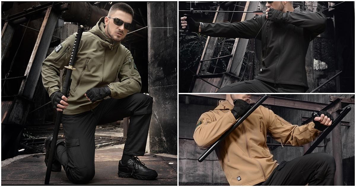 เสื้อแจ็คเก็ต TAD GEAR เสื้อกันหนาว TACTICAL สุดเท่ ใส่ได้ทั้งผู้ชายผู้หญิง