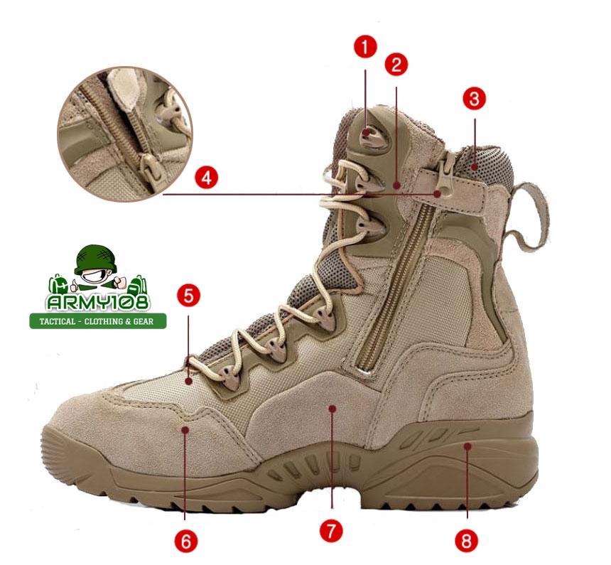 รองเท้า tactical เดินป่า