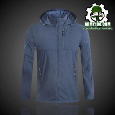 เสื้อกันแดด PAVE HAWK สีน้ำเงิน