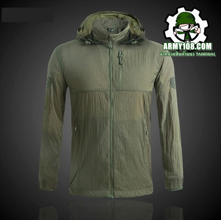 เสื้อกันแดด PAVE HAWK สีเขียว