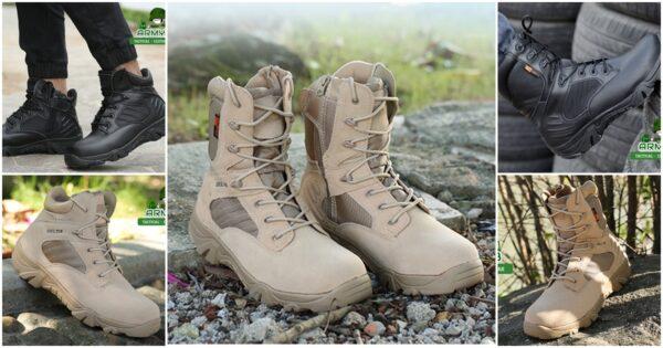 รองเท้า DELTA ข้อสั้นและข้อยาว